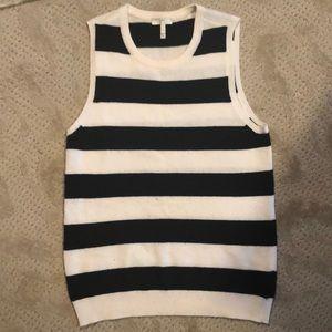 Joie wool/cashmere sleeveless sweater